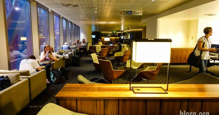 LAX TBIT OneWorld Lounge Review