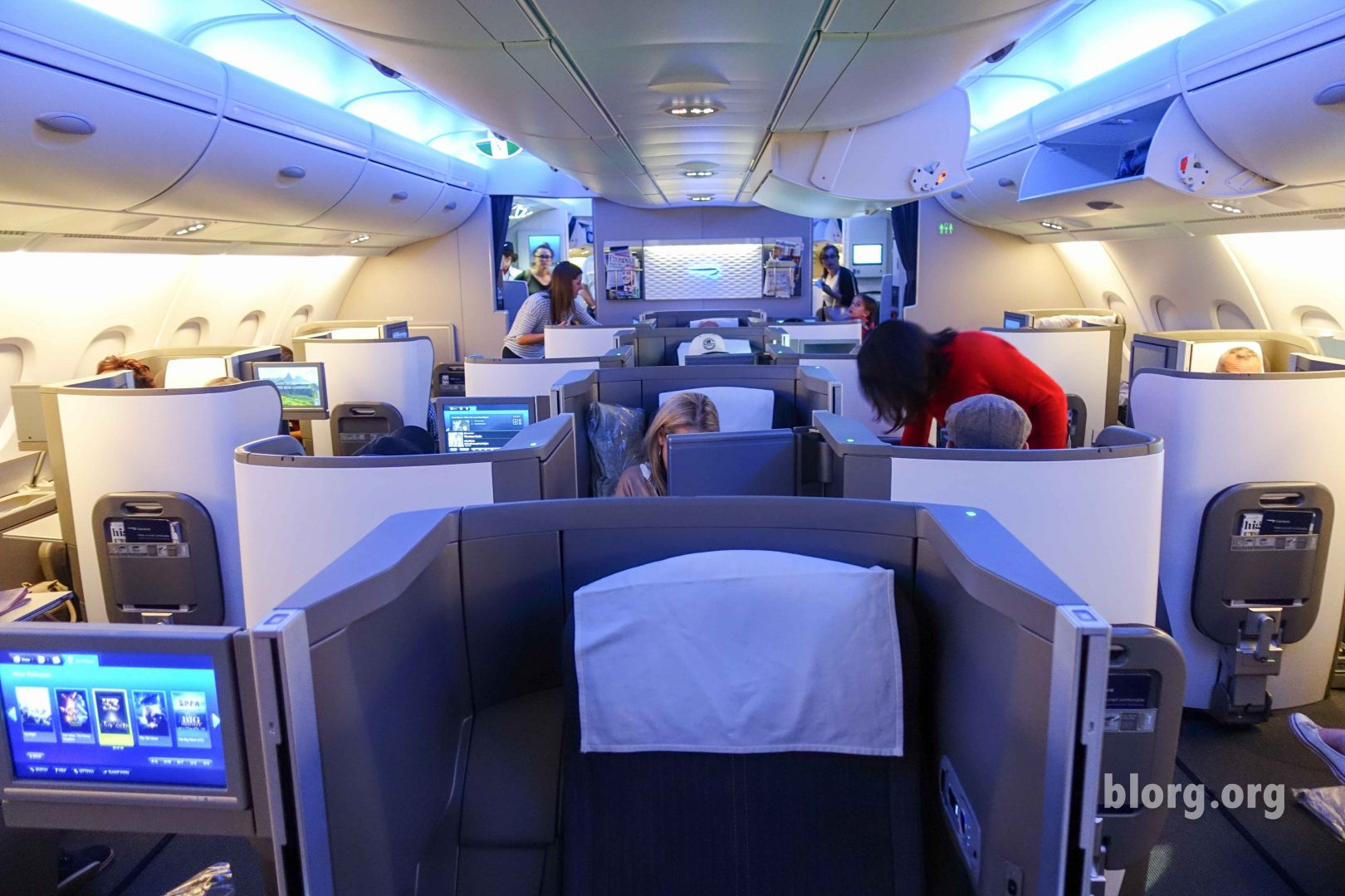British Airways Business Class: Los Angeles To London