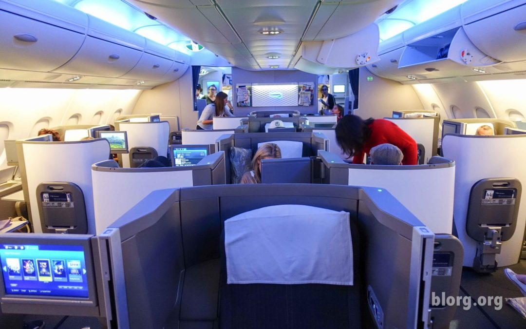 British Airways Club World (Business Class) LAX-LHR Review