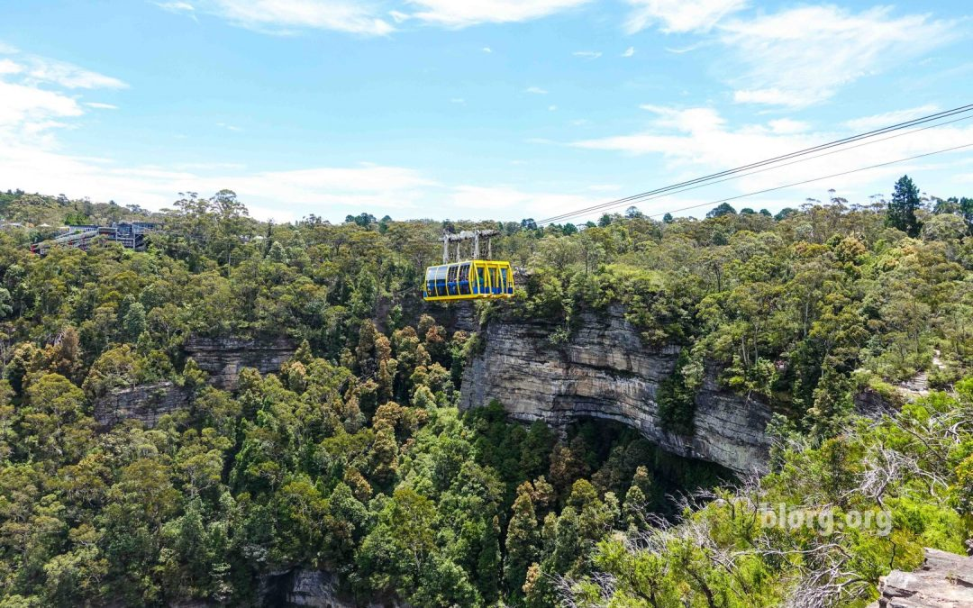 Hiking Around the Blue Mountains in Katoomba, Australia