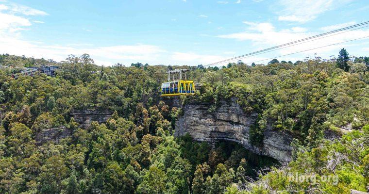 Hiking Around the Blue Mountains in Katoomba, Australia