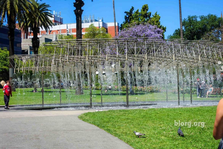Melbourne fountains