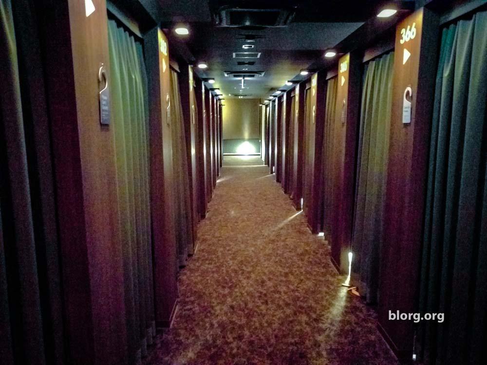 japanese capsule hotel