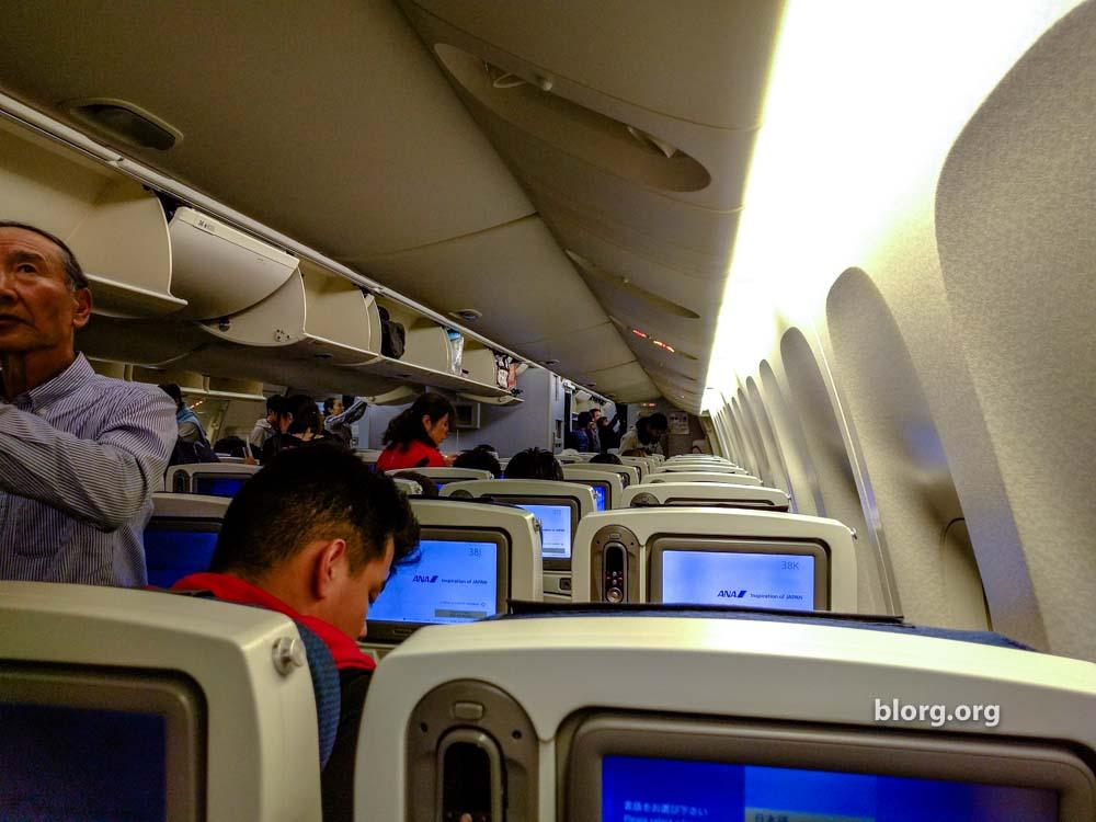 ana economy seat
