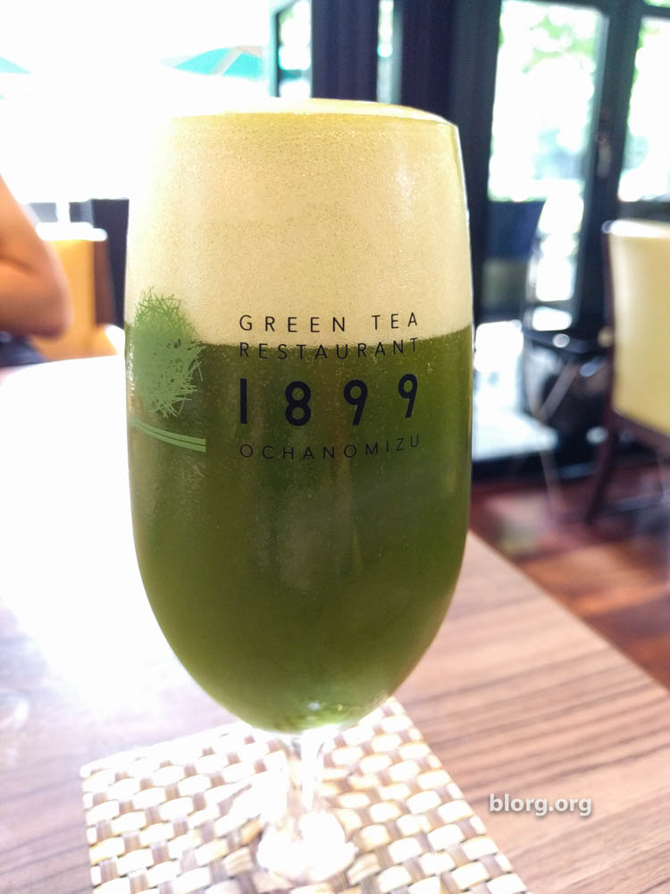 green tea beer
