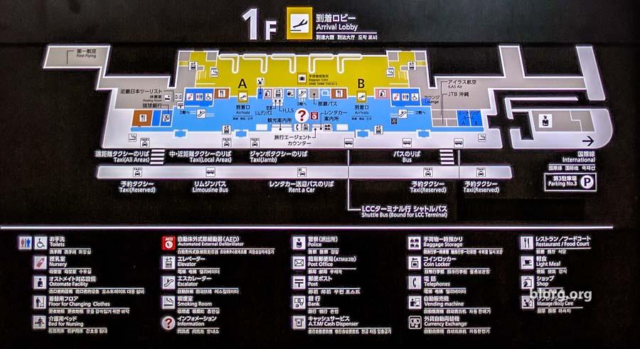 oka airport guide