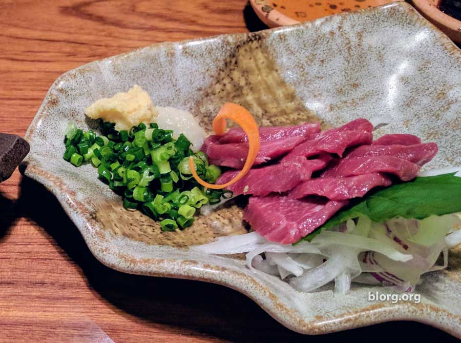 Unusual Eats: Horse Sashimi and Whale Bacon in Nagasaki
