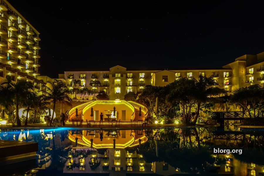 okinawa resort lights