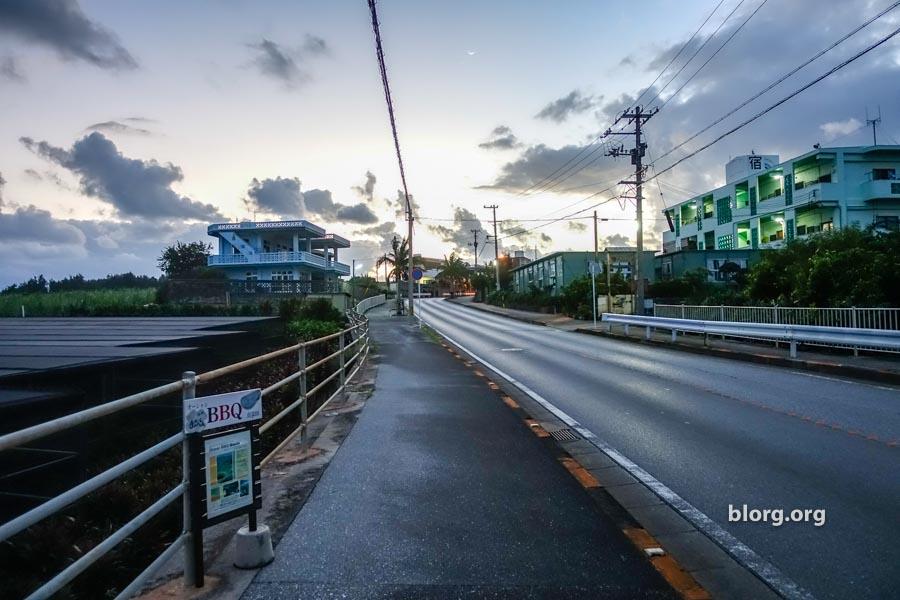 sunrise in okinawa