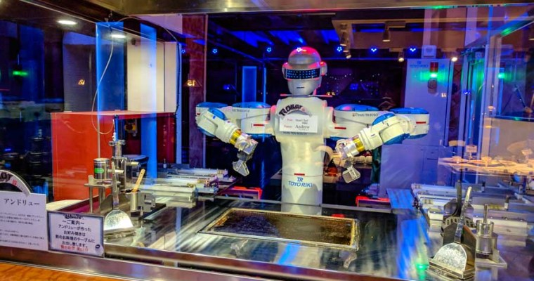 Huis Ten Bosch – There's a REAL Robot Restaurant…and it's good!