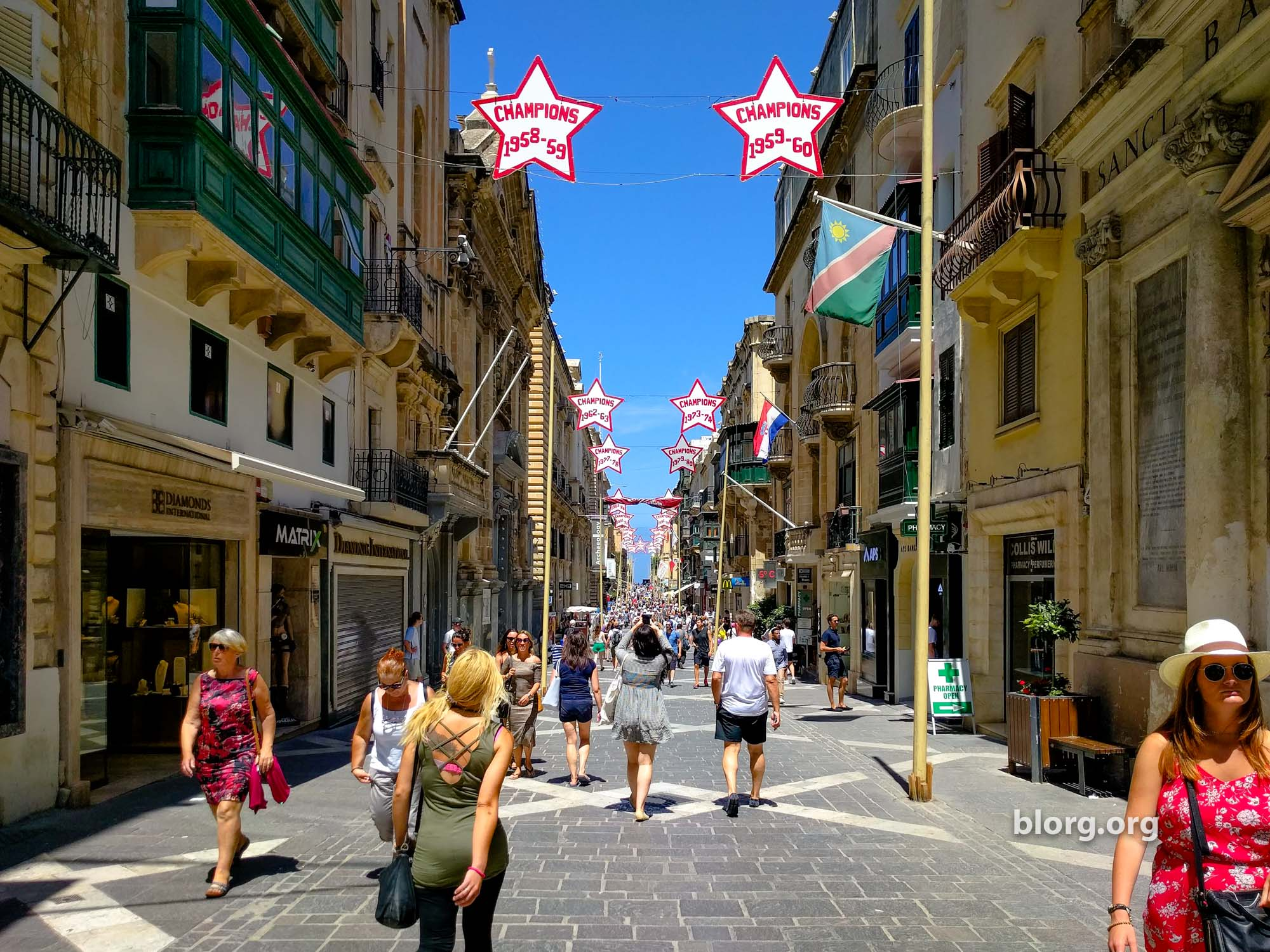 A Visual Walking Guide to Valletta Malta