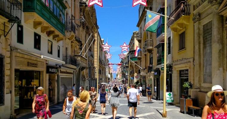 A Visual Walking Guide to Valletta Malta
