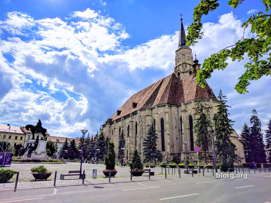 Visual Journey: Touring Through Old Town Cluj, Romania