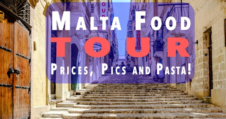 Malta Food Photo Tour With Prices