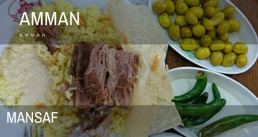 what to eat in amman, Jordan
