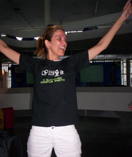 Lucia Freitas - Campus Party Brasil 2008