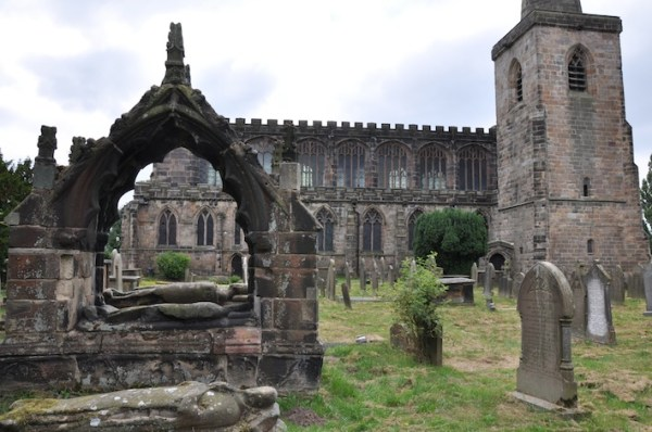 The Tombs of St Mary's Churchyard at Astbury | Echoes of ...