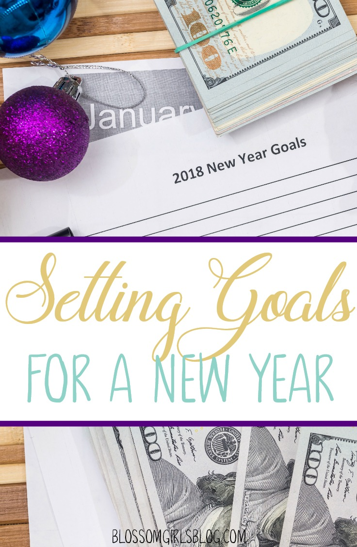 Setting Goals for a New Year - Giving up on resolutions and trying goals this year!