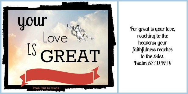 Your love is great