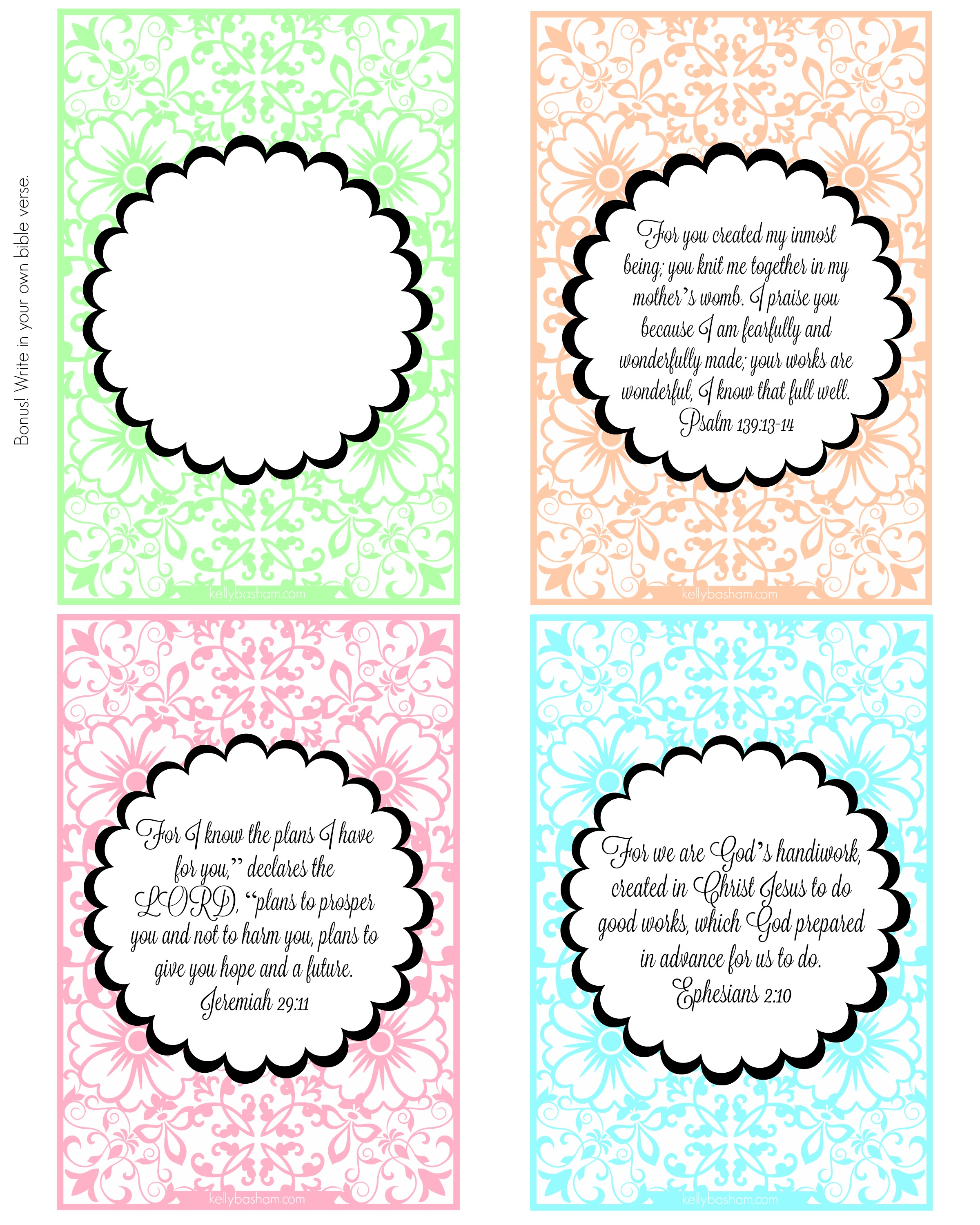 image relating to Bible Verse Cards Printable named Blossom Within Religion ~ Printable Scripture Playing cards