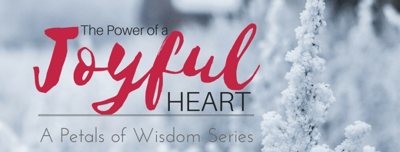 A devotional series about finding your joy.