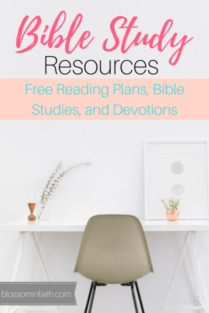 Bible Study Resources. Free to download and print. Reading plans, bible studies, and devotions.