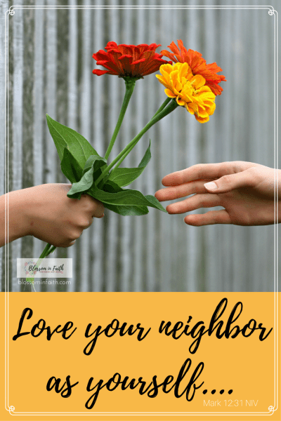 What can we learn from about kindness from the good Samaritan_ Love your neighbor as yourself....