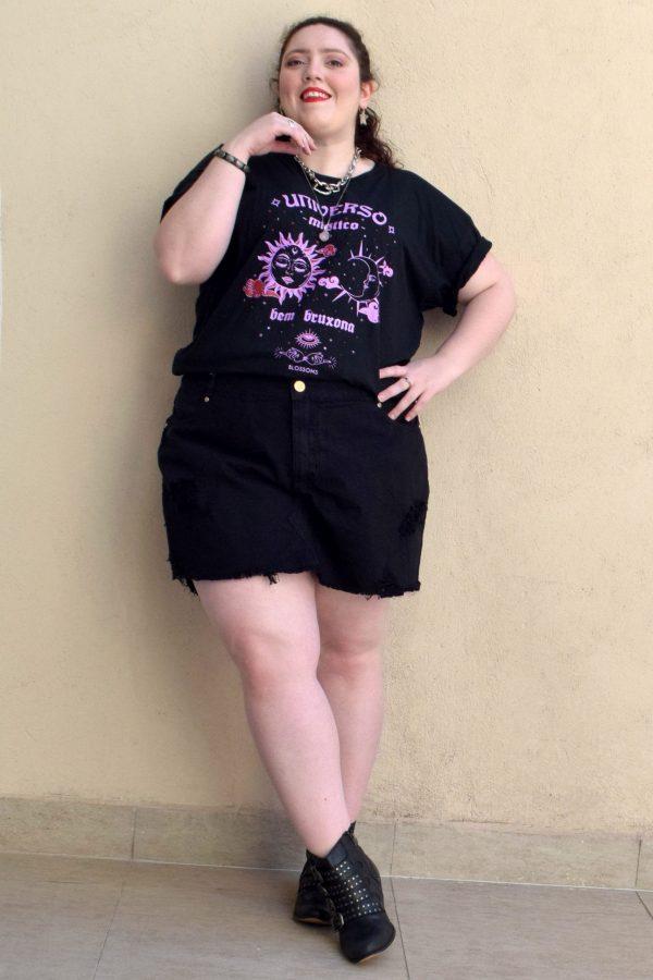 shorts-saia-jeans-preto-destroyed-blossoms-plus-size