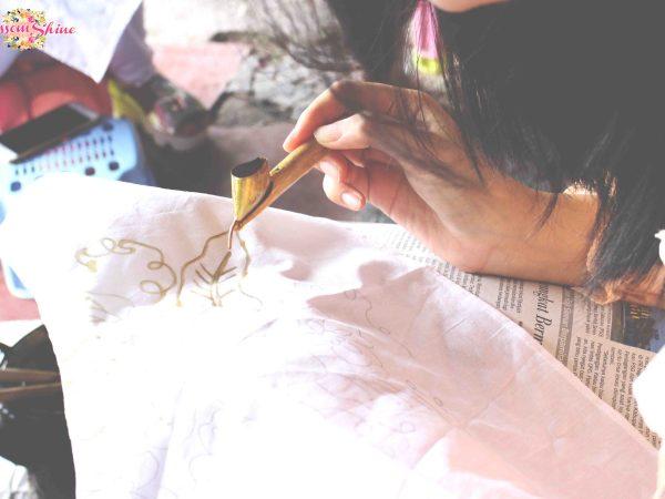 Batik Sogan -workshop 9 - blossomshine
