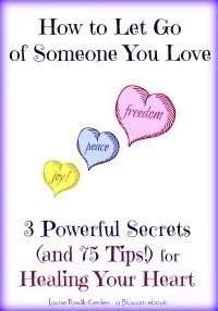 Blossom Tips How to Let Go of Someone You Love