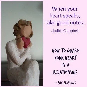 How to Guard Your Heart in a Relationship