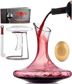 wine decanter aerator gift set for girlfriends mom dad
