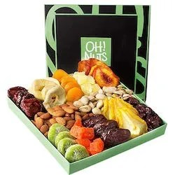 fruit nut gift basket for boyfriends parents