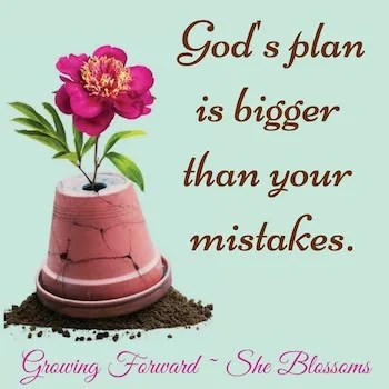 Blossom Tips How to Trust God With Your Future Step 13