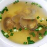 ≪あさりのスープ≫