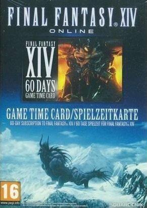 FINAL FANTASY XIV GAME TIME CARD 60 DAYS