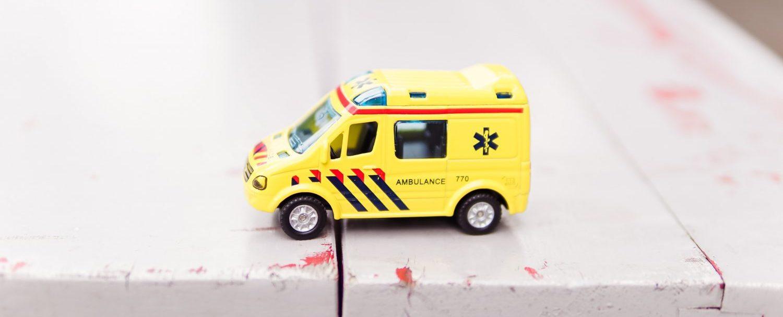 Når svigermor ikke vil inn i ambulansen