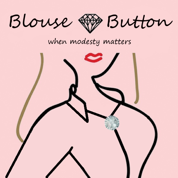 blouse button card