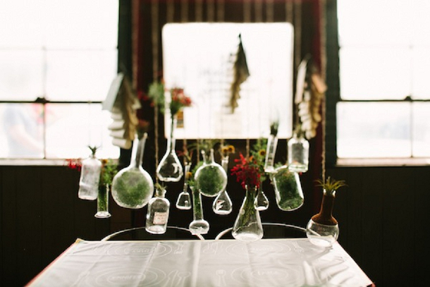 School Science Lab Cool Wedding Inspiration