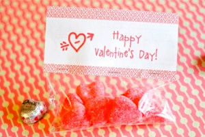 Free Printable Treat Toppers for Valentine's Day