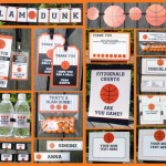 Basketball Printable Set