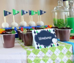 The Masters, Golf Party Printables