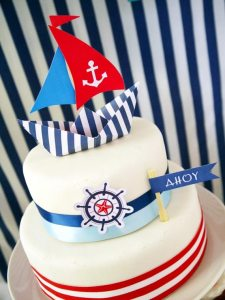 Ships Ahoy! A Boys Nautical Party!