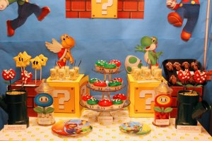 Mario Themed Birthday Party