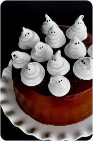Boo! Ghost cake