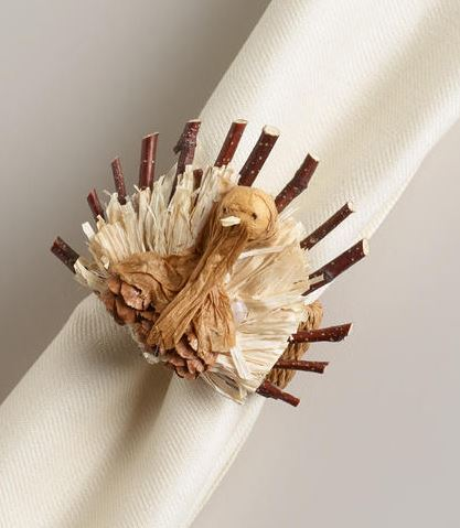 Natural Twig turkey napkin ring
