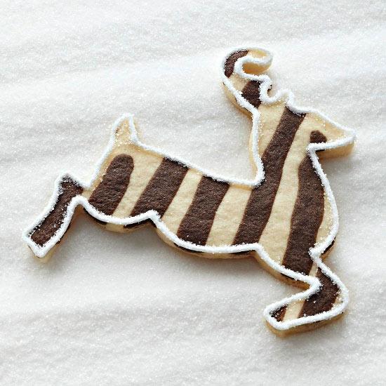 Lovely reindeer cookies!