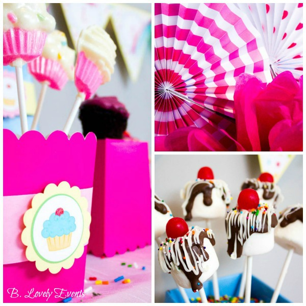 Cupcake party dessert bar! - B. Lovely Events