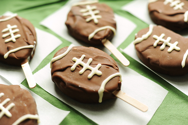 Football ice cream treats!