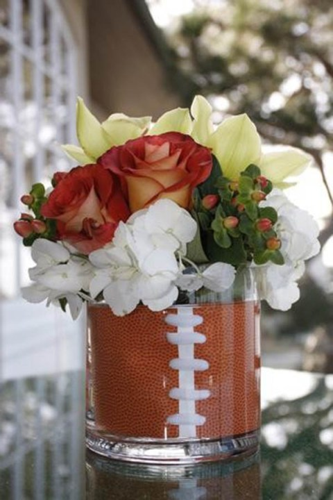 Great football party centerpiece